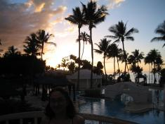 Sunset at the Kea Lani