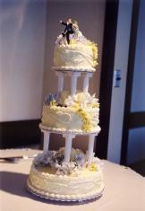 Jill's Wedding Cake
